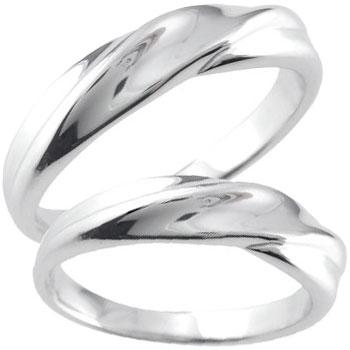 ペアリング プラチナ 結婚指輪 マリッジリング 地金リング 宝石なし 甲丸