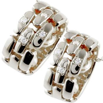 ペアネックレス ダイヤモンド ネックレス ペンダント ホワイトゴールドk18 ダイヤ リングネックレス チェーン 人気