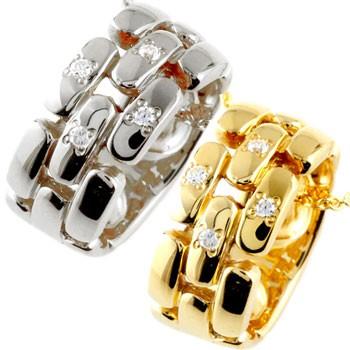 ペアネックレス ダイヤモンド ネックレス ペンダント プラチナ イエローゴールドk18 ダイヤ リングネックレス チェーン 人気