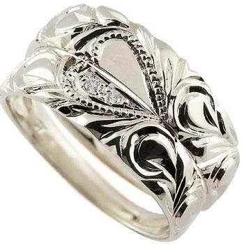 ハワイアン ペアリング 結婚指輪 ハート