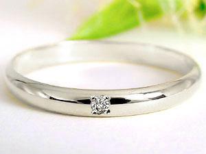 【送料無料・結婚指輪】ペアリングダイヤモンドダイヤモンドホワイトゴールドK18☆2本セット☆指輪【工房直販】