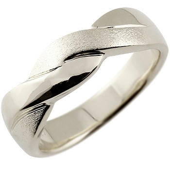 シルバーリング 指輪 幅広 つや消し