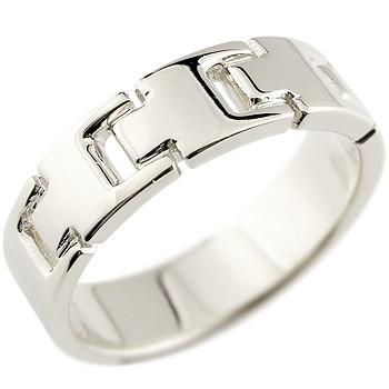 プラチナリング 指輪 ピンキーリング 地金リング 幅広指輪 シンプル 宝石なし pt900 レディース