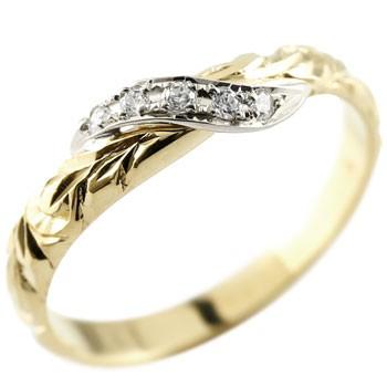 ハワイアンジュエリー ダイヤモンド プラチナ リング 指輪 ハワイアンリング ダイヤ 一粒 大粒