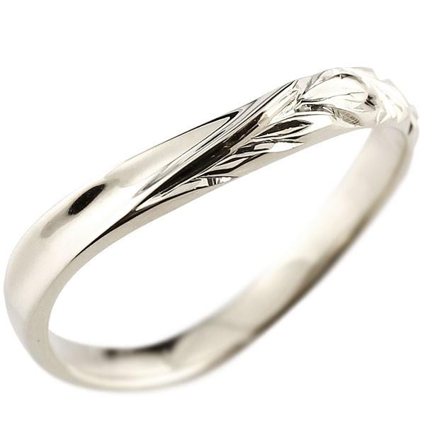 ハワイアンジュエリー シルバーリング 指輪 ハワイアンリング v字 レディース