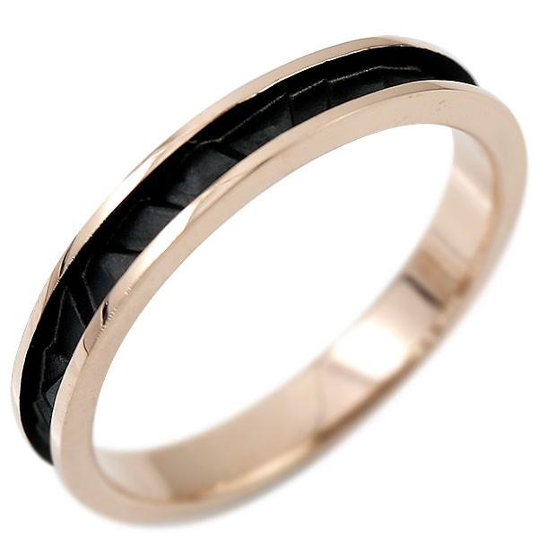 ホワイトゴールドリング 指輪 ピンキーリング 地金リング つや消し シンプル
