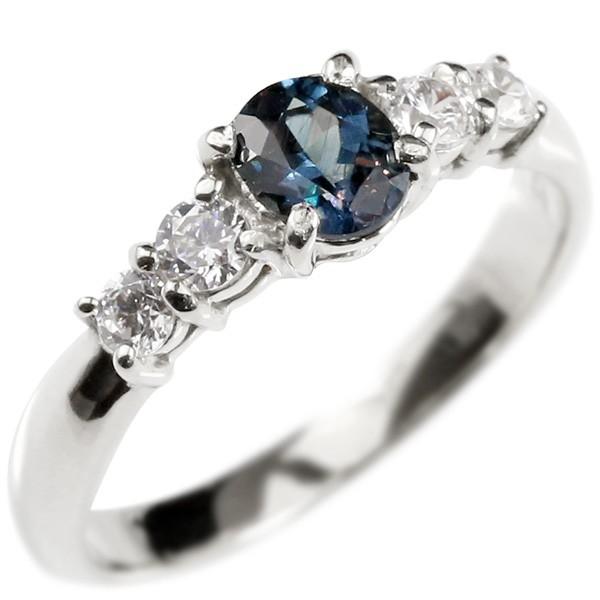 婚約指輪 プラチナリング カラーチェンジガーネット ダイヤモンド エンゲージリング 指輪 ピンキーリング pt900 宝石 稀少石 レディース