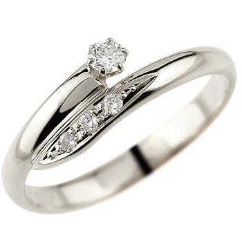 婚約指輪 エンゲージリング ダイヤモンド リング プラチナ 指輪 ピンキーリング ダイヤモンドリング ダイヤ