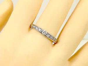 ダイヤモンドリングホワイトゴールドk18