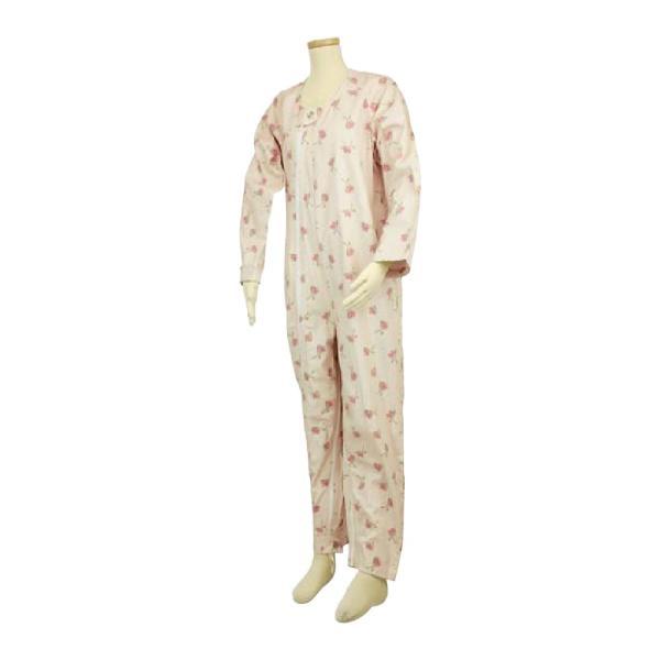 選べる6色! テイコブ エコノミー上下続き服 男女共用 介護用パジャマ つなぎ 寝巻き ねまき 介護用品|attakarental|08