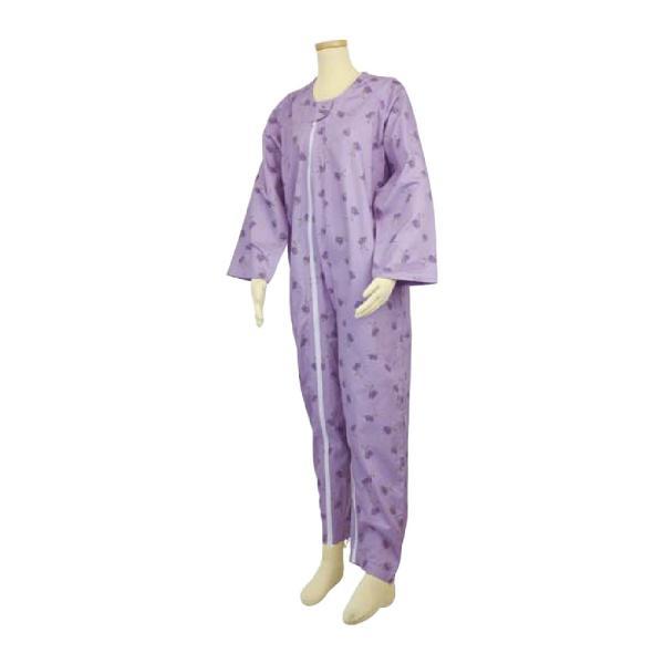 選べる6色! テイコブ エコノミー上下続き服 男女共用 介護用パジャマ つなぎ 寝巻き ねまき 介護用品|attakarental|09
