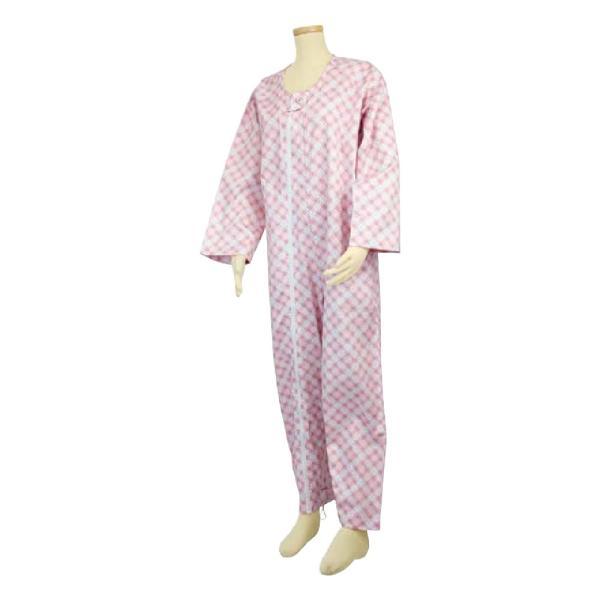 選べる6色! テイコブ エコノミー上下続き服 男女共用 介護用パジャマ つなぎ 寝巻き ねまき 介護用品|attakarental|06