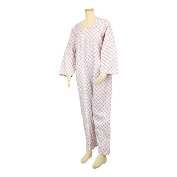 選べる6色! テイコブ エコノミー上下続き服 男女共用 介護用パジャマ つなぎ 寝巻き ねまき 介護用品|attakarental|07