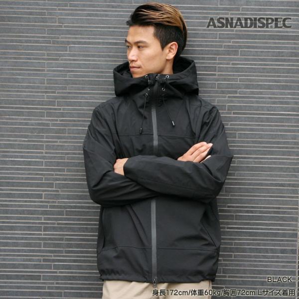 ASNADISPEC マウンテンパーカー メンズ ジャケット カモフラ 迷彩 アウター ストレッチ アスナ アスナディスペック M L XL XXL 大きいサイズ attention-store 16