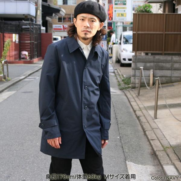 REALCONTENTS メンズ コート ステンカラーコート リアルコンテンツ ジャケット ブラック ネイビー ベージュ M L XL アメカジ ファッション|attention-store|13