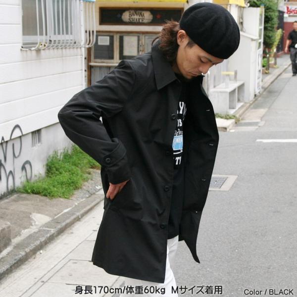 REALCONTENTS メンズ コート ステンカラーコート リアルコンテンツ ジャケット ブラック ネイビー ベージュ M L XL アメカジ ファッション|attention-store|14