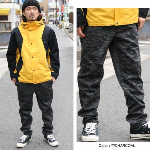 REALCONTENTS パンツ メンズ 防風 暖パン ボトムス ストレッチ リアルコンテンツ ストリート系 ファッション 黒 ブラック グレー M L XL XXL 大きいサイズ|attention-store|15