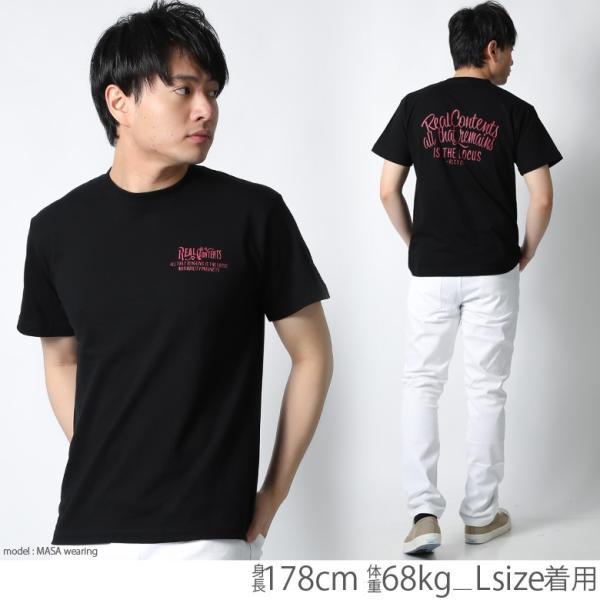 Tシャツ メンズ 半袖 ブランド リアルコンテンツ REALCONTENTS ストリート 黒 白 ダンス 大きいサイズ XL XXL プリント ロゴ おしゃれ /3045/ attention-store 20
