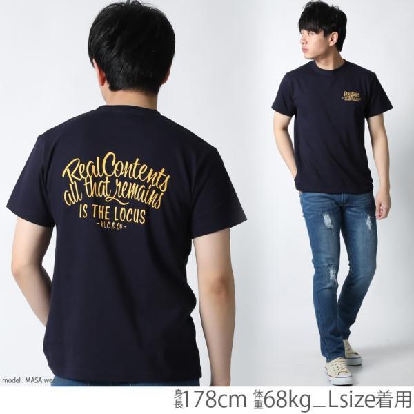 Tシャツ メンズ 半袖 ブランド リアルコンテンツ REALCONTENTS ストリート 黒 白 ダンス 大きいサイズ XL XXL プリント ロゴ おしゃれ /3045/ attention-store 21