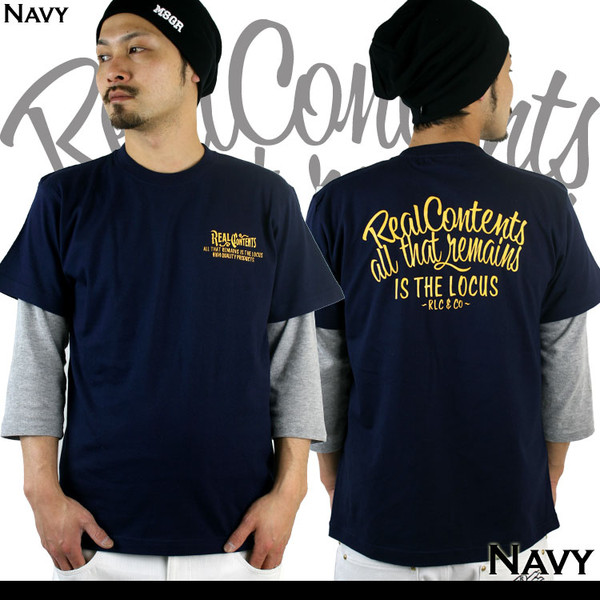 Tシャツ メンズ 半袖 ブランド リアルコンテンツ REALCONTENTS ストリート 黒 白 ダンス 大きいサイズ XL XXL プリント ロゴ /3045/|attention-store|11