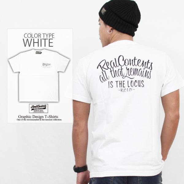Tシャツ メンズ 半袖 ブランド リアルコンテンツ REALCONTENTS ストリート 黒 白 ダンス 大きいサイズ XL XXL プリント ロゴ /3045/|attention-store|09