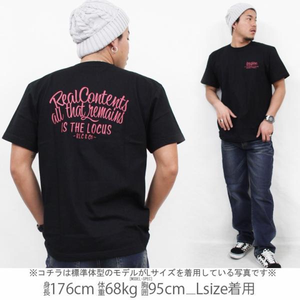 Tシャツ メンズ 半袖 ブランド リアルコンテンツ REALCONTENTS ストリート 黒 白 ダンス 大きいサイズ XL XXL プリント ロゴ /3045/|attention-store|10