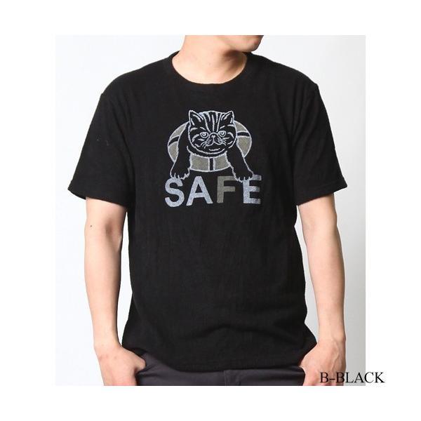 Tシャツ メンズ 半袖 パイル生地 ナノテック NANOTEC アメカジ ストリート 黒 白 ピンク イエロー ネイビー M L XL LL 2L プリント ロゴ カットソー タオル生地|attention-store|25