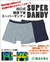 田口式健康パンツ スーパーダンディー