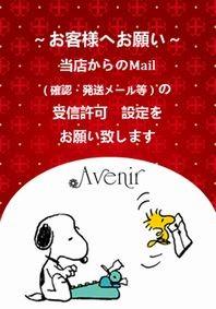Mailの受信許可設定のお願い