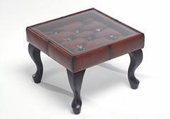 チェスターフィールドソファ用 サイドテーブル リーズ 幅50cm