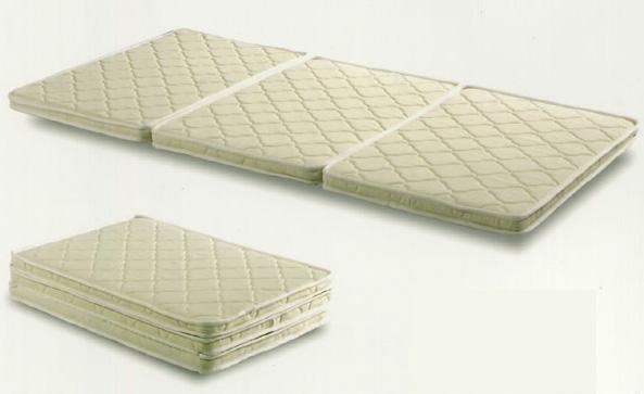 セット システムベッド用 三つ折りマットレス パームマットレス 安全