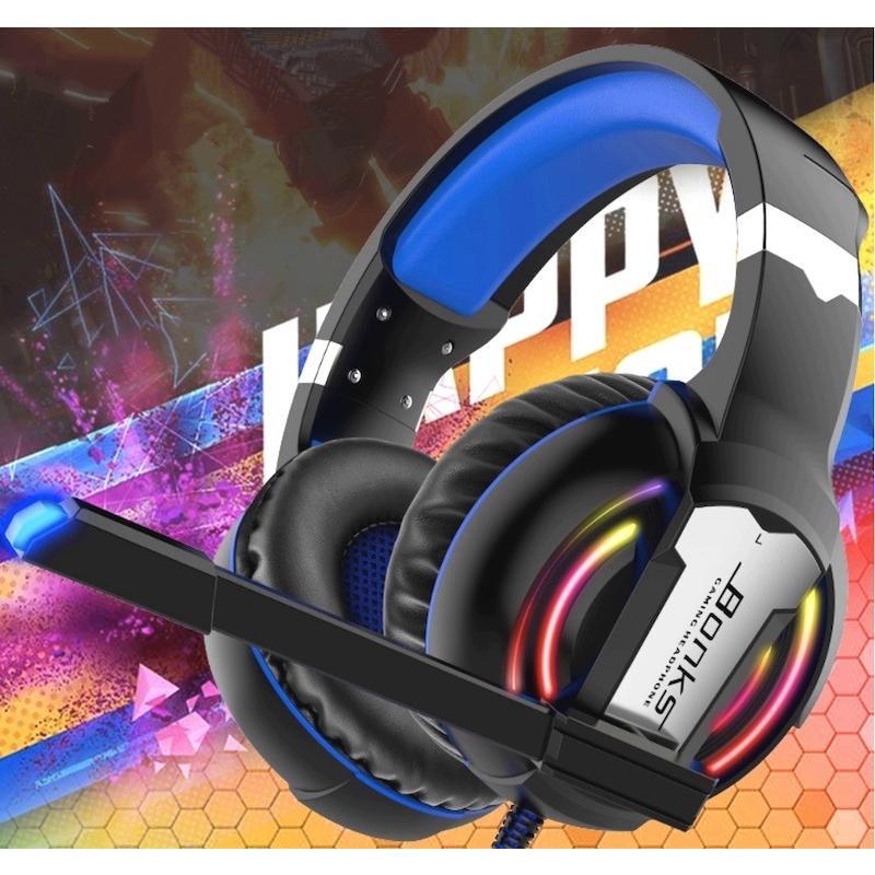 ゲーミングヘッドセット ヘッドホン スイッチ PS4 PC フォートナイト ボイスチャット Switch ゲーミング リモコン マイク付き カラフルLED 2020年版|azbex-tec|22