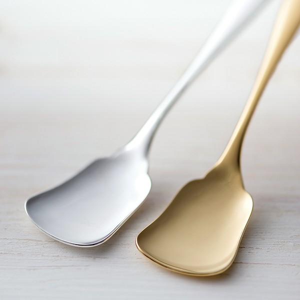 銅アイスクリームスプーンセット