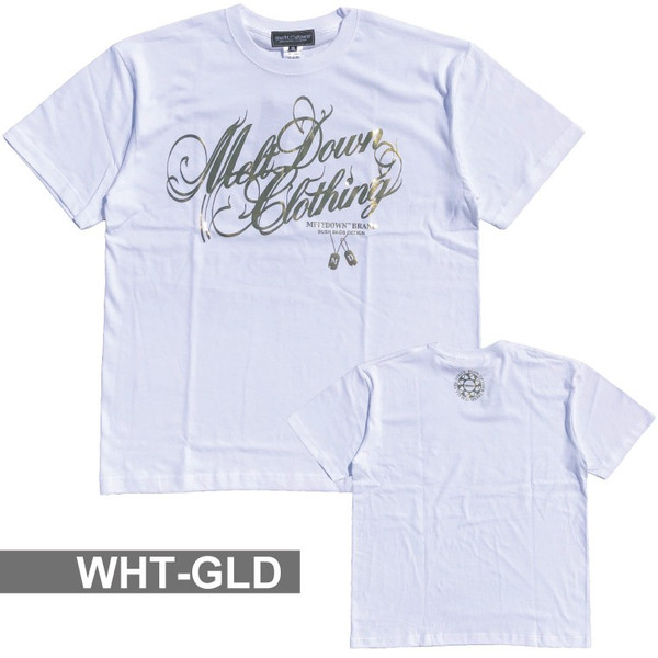 MELTDOWN(メルトダウン) Tシャツ FOIL SCRIPT S/S TEE(MD18SS-SS02) ストリート系 B系 大きいサイズ|b-bros|12