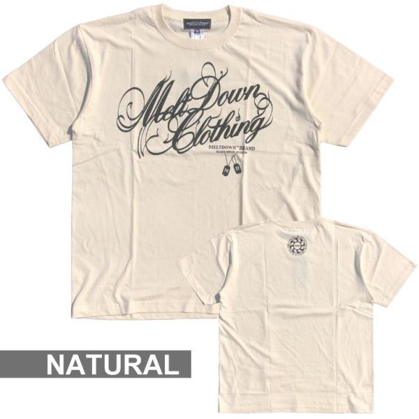 MELTDOWN(メルトダウン) Tシャツ NATURE SCRIPT S/S TEE(MD18SS-SS04) ストリート系 B系 大きいサイズ|b-bros|11