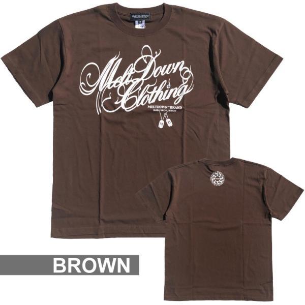 MELTDOWN(メルトダウン) Tシャツ NATURE SCRIPT S/S TEE(MD18SS-SS04) ストリート系 B系 大きいサイズ|b-bros|12