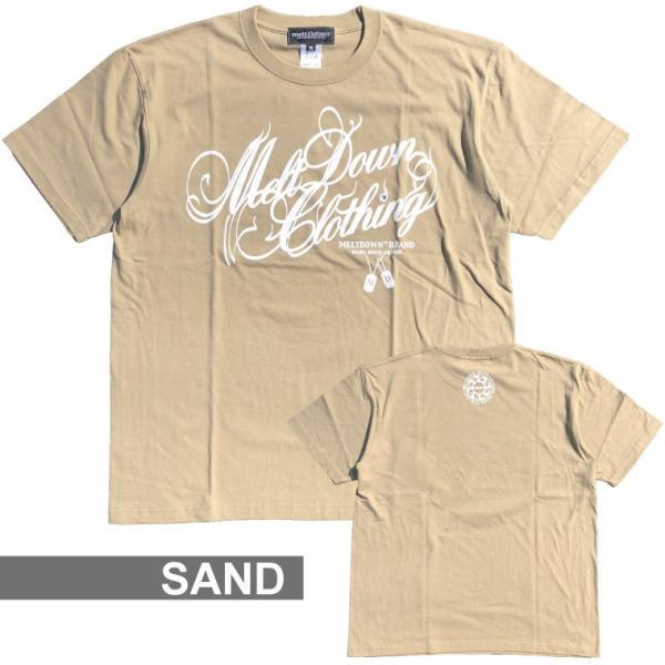 MELTDOWN(メルトダウン) Tシャツ NATURE SCRIPT S/S TEE(MD18SS-SS04) ストリート系 B系 大きいサイズ|b-bros|13