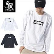 STYLEKEY/スタイルキー/BOX LOGO L/S TEE/商品ページ