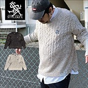 STYLEKEY/スタイルキー/ROYAL POINT CABLE SWEATER/商品ページ