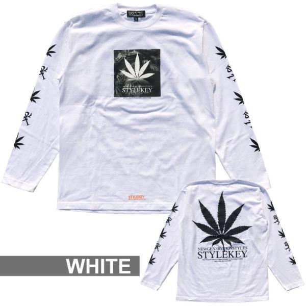 STYLEKEY(スタイルキー) 長袖Tシャツ ADDICT L/S TEE(SK17HO-LS03) ストリート系 B系 大きいサイズ|b-bros|06