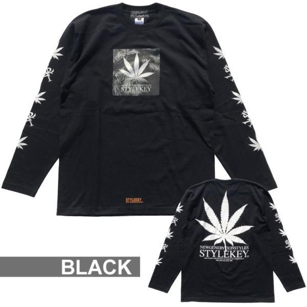 STYLEKEY(スタイルキー) 長袖Tシャツ ADDICT L/S TEE(SK17HO-LS03) ストリート系 B系 大きいサイズ|b-bros|07