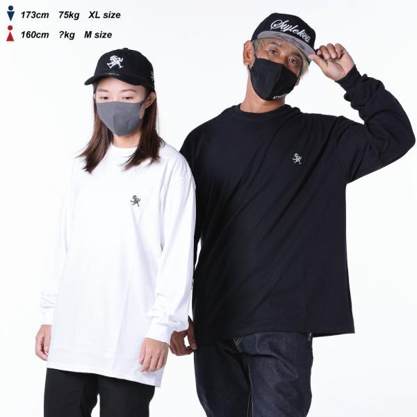 STYLEKEY(スタイルキー) 長袖Tシャツ ROYAL POINT L/S TEE(SK18HO-LS02) ストリート系 B系 大きいサイズ b-bros 05