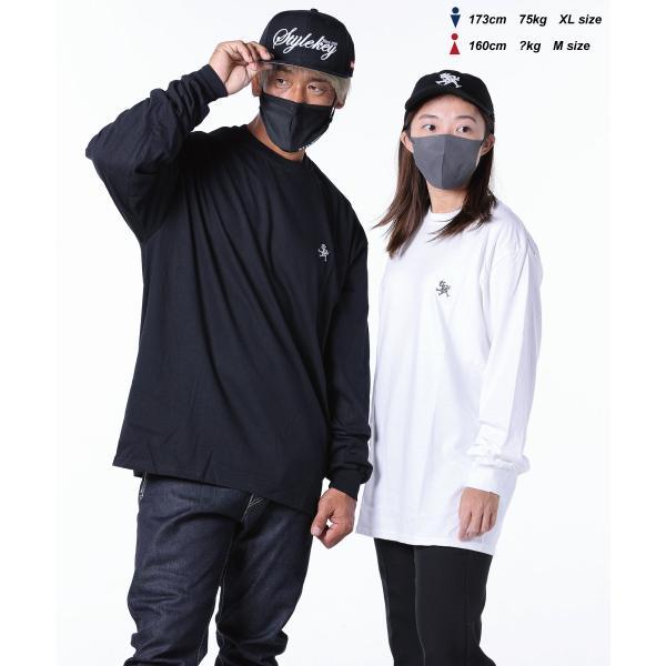 STYLEKEY(スタイルキー) 長袖Tシャツ ROYAL POINT L/S TEE(SK18HO-LS02) ストリート系 B系 大きいサイズ b-bros 06