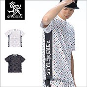 STYLEKEY/スタイルキー/MULTI MONO STRETCH S/S TEE/商品ページ