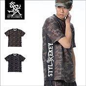 STYLEKEY/スタイルキー/ROYAL CAMO STRETCH S/S TEE/商品ページ