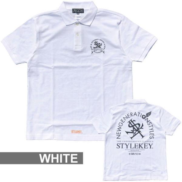 STYLEKEY スタイルキー ポロシャツ ARCADE 鹿の子 S/S POLO(SK18SP-PL02) ストリート系 B系 大きいサイズ|b-bros|07