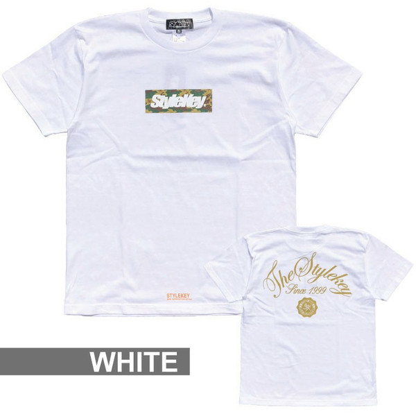 STYLEKEY スタイルキー Tシャツ BOX CAMO S/S TEE(SK18SP-SS05) ストリート系 B系 大きいサイズ|b-bros|07