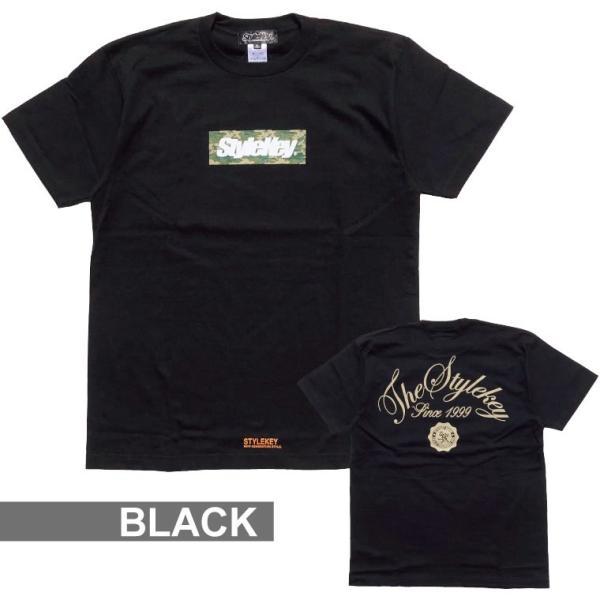 STYLEKEY スタイルキー Tシャツ BOX CAMO S/S TEE(SK18SP-SS05) ストリート系 B系 大きいサイズ|b-bros|08