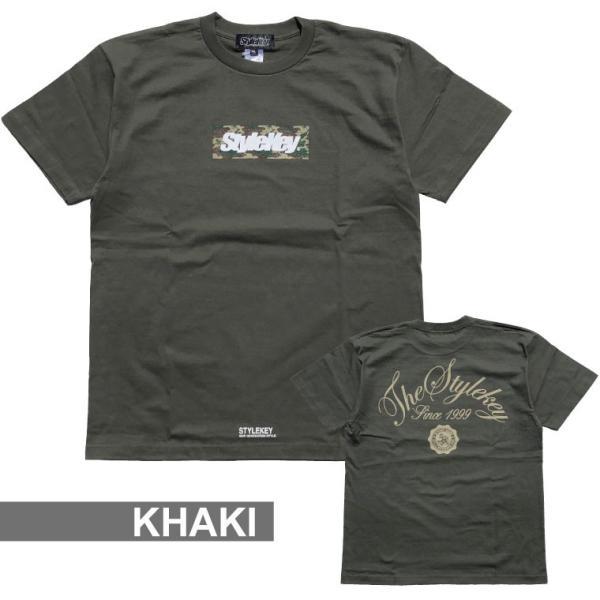 STYLEKEY スタイルキー Tシャツ BOX CAMO S/S TEE(SK18SP-SS05) ストリート系 B系 大きいサイズ|b-bros|09