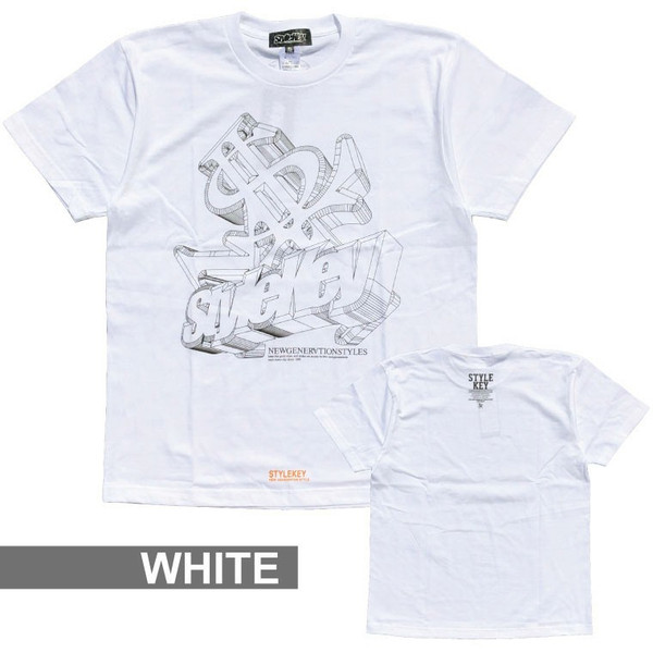 STYLEKEY スタイルキー Tシャツ 3D LOGO S/S TEE(SK18SP-SS07) ストリート系 B系 大きいサイズ|b-bros|07